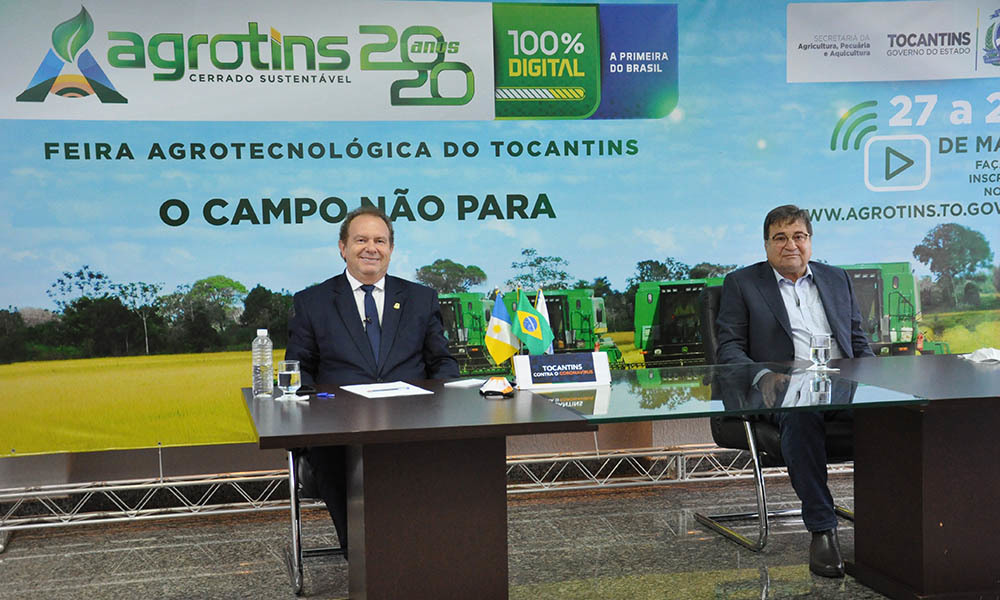 Indústria e Comércio apresentam oportunidades de investimentos no Estado na Agrotins/2020 100% digital