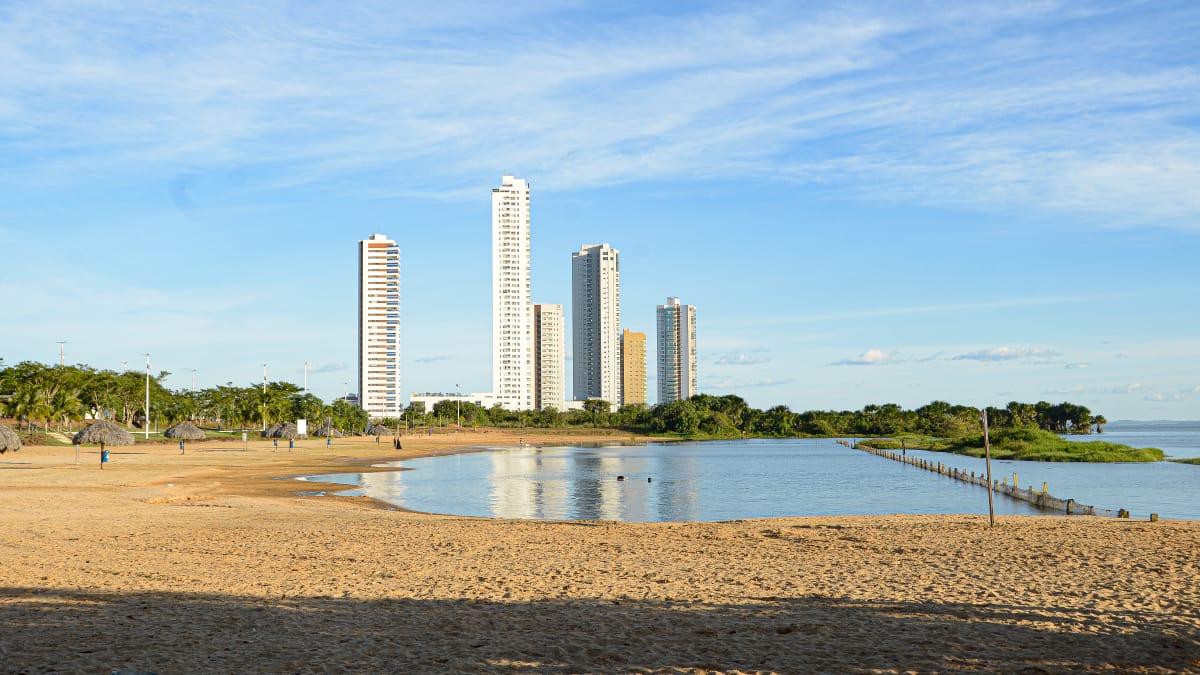Análise de condições sanitárias atesta qualidade da água do Lago de Palmas, mas praias seguem fechadas devido à pandemia de Covid-19