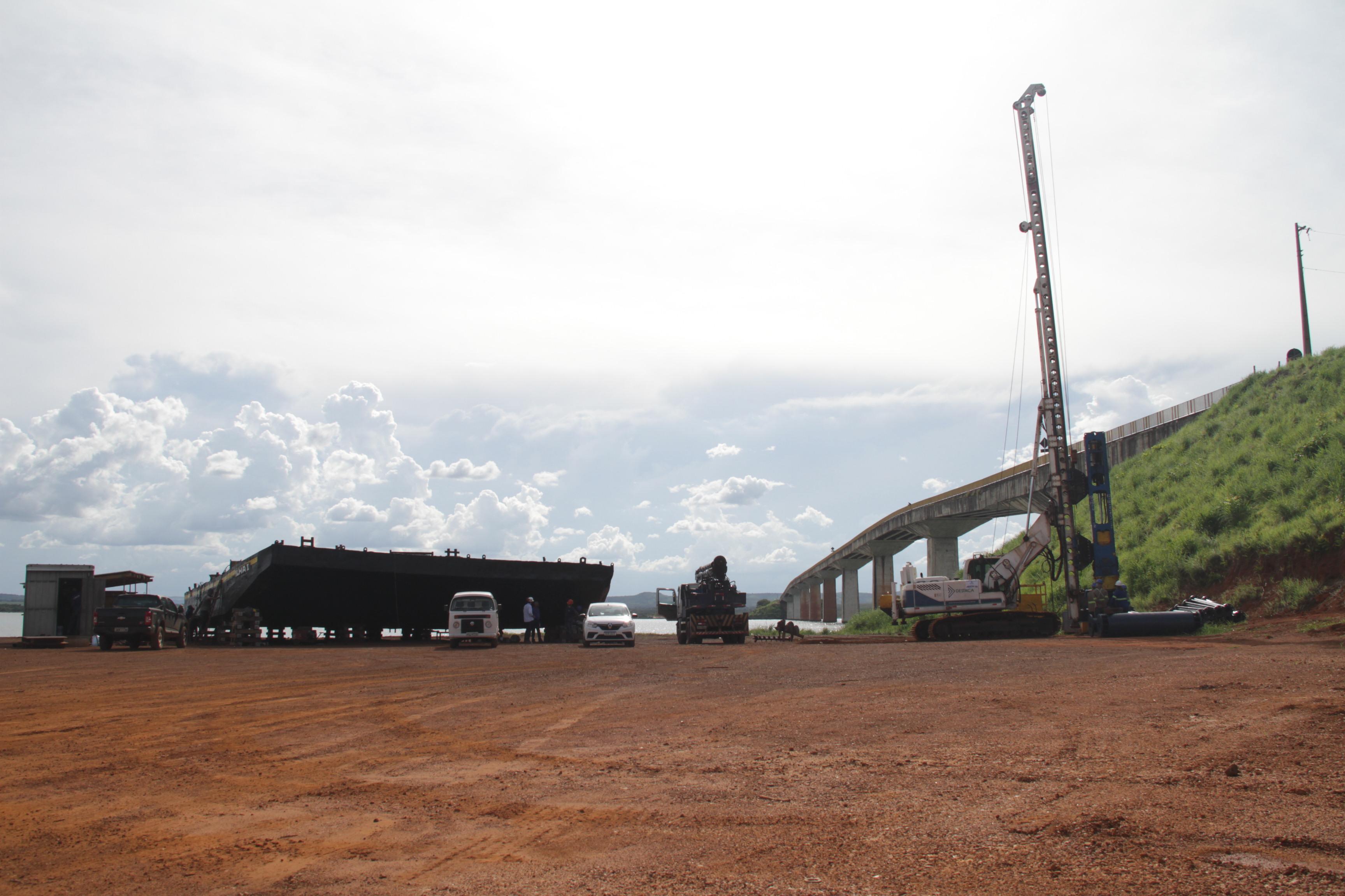 Governo do Tocantins inicia construção de fundações da nova Ponte de Porto Nacional nesta terça, 26