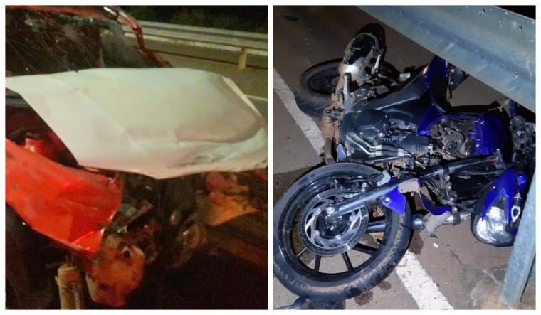 Motociclista morre após ter perna e braço arrancados em acidente na Ponte da Amizade